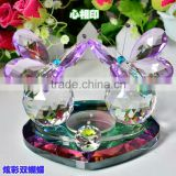 wedding favor crystal butterfly perfume cosmetics jar (R-2297