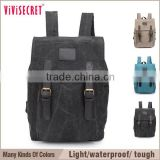 vivisecret Vintage style School bag travel Business Casual Campus Backpack notebook Laptop Bag