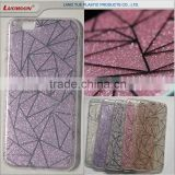 double IMD printing glitter phone case tpu back cover phone case for gionee e5 s6 s7