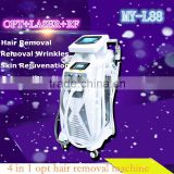 MY-L88 Multifunction 4 in 1 ipl opt shr laser hair removal/tattoo removal elight laser machine shr hair removal (CE)