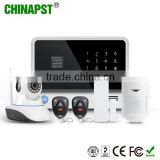 Cheapest 433mhz APP WIFI GSM IP Camera Business/Factory Home Security Wifi Alarm System PST-G90B