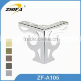 ZHIFA ZF-A105 factory price sofa legs toronto, metal coffee table legs, sofa furniture legs