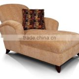 custom made hotel furniture hot sale bedroom furniture lounge chair with pillow