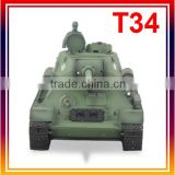 2.4 GHz 1/16 Russian T34 RC Tank with 6mm BB shot function