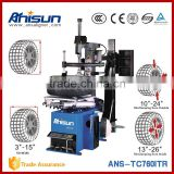 Automatic tire machine with air inflation device and arm ,auto workshop equipment