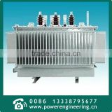 15kV Amorphous alloy iron core three phase oil immersed transformer