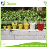 bulk garden birthday decorations plants inserts baking metal balcony hanging candy flower pot