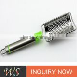 WSCCHX158 Microplane Style 18/8 Stainless Steel Blade, Ergonomic Handle Cheese Zester/Grater /lemon