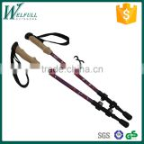 Trekking pole, 3 Sections Retractable, walking stick, SZ15336