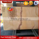 Easy designed brown yellow honey onyx marble slabs