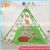 wholesale classic Indian kids play teepee funny toy tent indoor kids play teepee W08L012