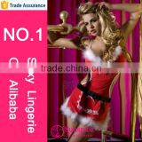 wholesale popular adult christmas gift sexy christmas lingerie pattern christmas adult costumes