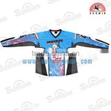 OEM BMX Jersey, Bicycle Motocross Fluorescent T-Shirt