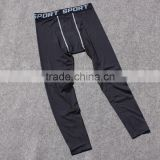 men's fashion polyester/spandex tight sports pants/leggings