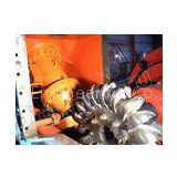 High water Head Pelton Hydro Turbine / Pelton Water Turbine with Synchro Generator and PLC Governor,