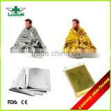 Outdoor Heat Reflective Emergency Mylar Blanket