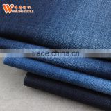 2017 high quality 100% cotton denim jeans knit Fabric for trousers