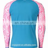 custom design uv protection kids women black rashguard sublimated lycra surf bjj mma rashguard