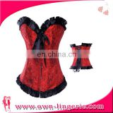 497cc3305 Hot design girl vintage type wholesale strapless girdle classical corset  with lowest price