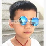 Vintage Round Sunglasses Kids Fashion Metal Gradient Retro Anti-UV Children Sun Glasses for Boys Girls Baby UV400 Infant Eyewear
