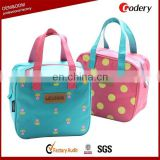 Hot selling polyester thermal lunch box bag