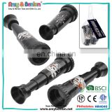 New arrival pirate toys set black plastic pirate telescope for boys
