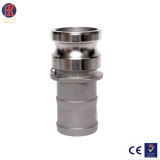 stainless steel pipe fittings union connector, coupling compression fitting connector