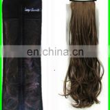 customized high quality organza hair extensions bags