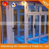 Retractable aluminium screen