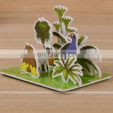 Wholesale custom cartoon photo small paper puzzle