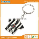 Logoson design your own name metal keychain maker/personnalised keyring