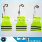 High visibility Promotion gifts reflective keychain