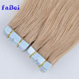 100% peruvian human hair extension adhesive tape Peruvian hair ombre