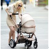 Baby Buggy 3 in 1 Baby Stroller with Body Suspension