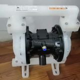 QBK air operated double diaphragm pump with air valve built in