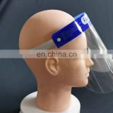 Disposable PET Plastic Face Shield and Eye Protection Shield