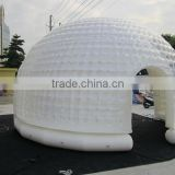 Outdoor inflatable transparent roof top cover tent inflatable dome tent double clear tent