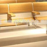 Aluminium alloy waiting chair airport bentwood waiting benches H60B-6