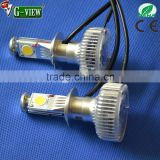 Ultrabright auto led headlight 2000lm 2nd generation h4 h7 h8 h11 h16 high power care led headlamp