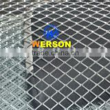 general mesh Aluminum Expanded Metal mesh car grille-silver colour