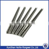 Aluminum extruded profile machining parts