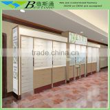 Wholesale retail wall merchandise display racks with hooks for gift shop decoration
