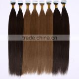 cuticle silky Mongolia Malaysia Peruvian Russian European Indian Brazilian PU Skin weft remy tape hair