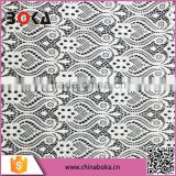 Boka newest lace fabric for garment dress cotton chemical guipure cheap lace fabric in yiwu factory