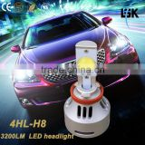 NEW ARRIVAL !!! good quality CE, RoHS, ISO9001 Car Accessories kits 12V-24V G4 AUTO led H8 headlight bulb