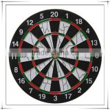 "18""x 1-1/2"" Standard Size Flocked Paper Dartboard For Indoor Game, 2015 Hot Sell"
