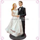 Wedding table decoration couple Bride and Groom resin wedding cake decoration