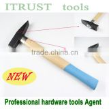 Wedge Screw Head Wooden Handle Chipping Machinist's Hammer