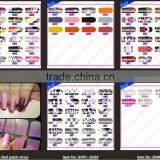 Nail Foil Wrap Sticker Shiny Nail Patch Art (ZG09-ZG1201)
