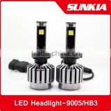 h1 New Dsign h4 car led headlight h1 7inch car led headlights h1 7 inch round car led head lamp